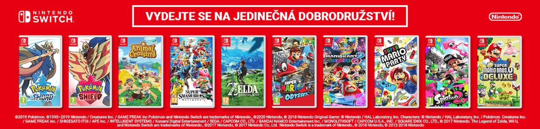 Hry Nintendo Switch