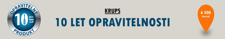 Krups - 10 let opravitelnosti